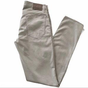 HUDSON BLAKE SLIM STRAIGHT LEG PANTS JEANS